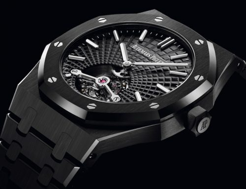 AUDEMARS PIGUET ROYAL OAK TOURBILLON  EXTRA-THIN BLACK CERAMIC