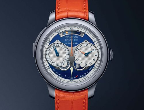 NEWS – NUOVO RECORD PER UN SEGNATEMPO F.P.JOURNE: L'ASTRONOMIC BLUE