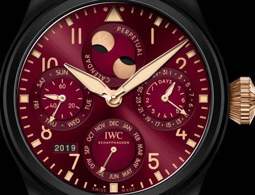 IWC Lewis Hamilton Big Pilot's Watch Calendario Perpetuo