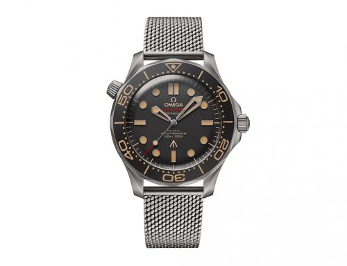 Introducing OMEGA Seamaster Diver 300M 007 'No Time To Die' Edition
