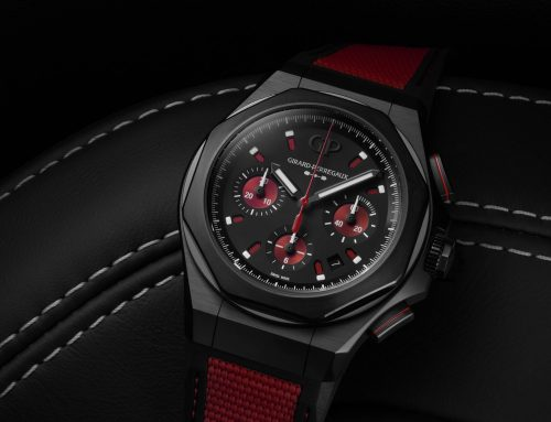 Introducing Girard-Perregaux Laureato Absolute Passion – Now in Racing Red