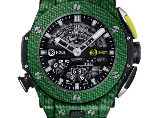 Introducing TEXALIUM VERDE, ZAFFIRO GIALLO O CERAMICA BIANCA: THE ART OF FUSION by HUBLOT