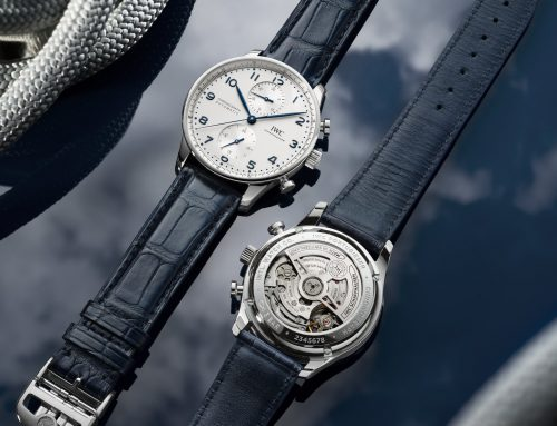 Introducing IWC PORTUGIESER CHRONOGRAPH adesso con calibro in-house
