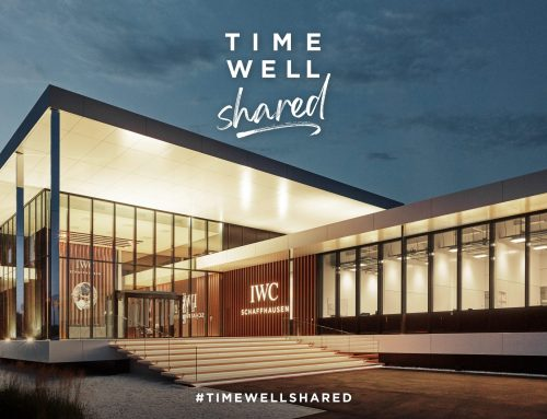 "News La famiglia globale IWC unita per il ""TIME WELL SHARED"""