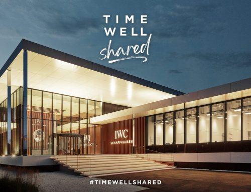 """News La famiglia globale IWC unita per il """"TIME WELL SHARED"""""""