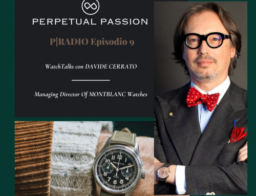 P|RADIO Episodio 9: WatchTalks con Davide Cerrato, Managing Director di Montblanc