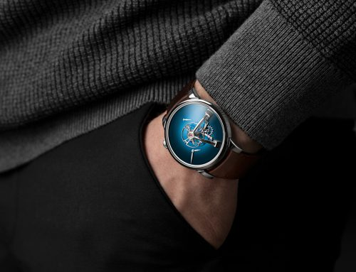 Introducing MB&F x H. Moser & Cie. LM101 con quadrante Fumé