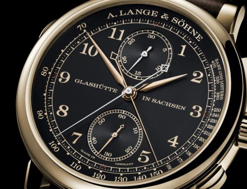 "Introducing A. Lange & Söhne 1815 Rattrapante Honeygold ""Homage to FA Lange"""