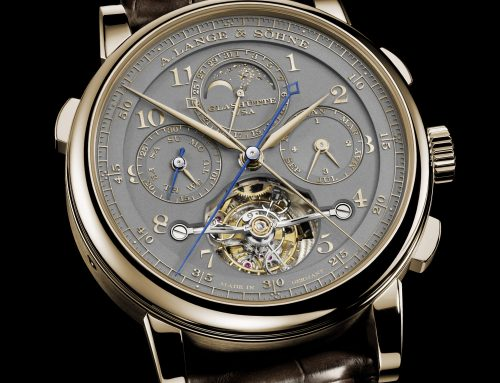 """Introducing A. Lange & Söhne Tourbograph Perpetual Honeygold """"Homage to FA Lange"""""""