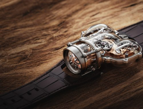 """Introducing MB&F HOROLOGICAL MACHINE N°9 """"SAPPHIRE VISION"""""""