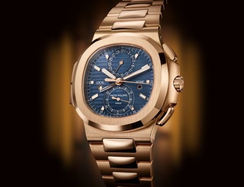 Introducing the new Patek Philippe Nautilus Travel Time Chronograph 5990R in Rose Gold