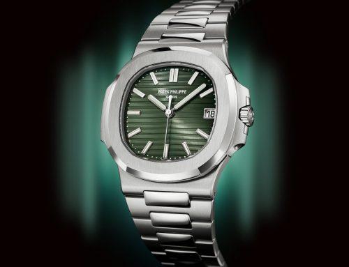 W&W2021   Introducing Patek Philippe Nautilus 5711A quadrante verde