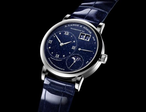 Introducing A. Lange & Söhne Little Lange 1 Moon Phase 'Gold FLux'