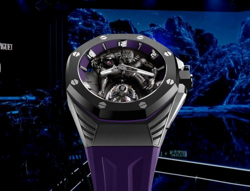 "Introducing  | Audemars Piguet Royal Oak Concept ""Black Panther"" limited edition"