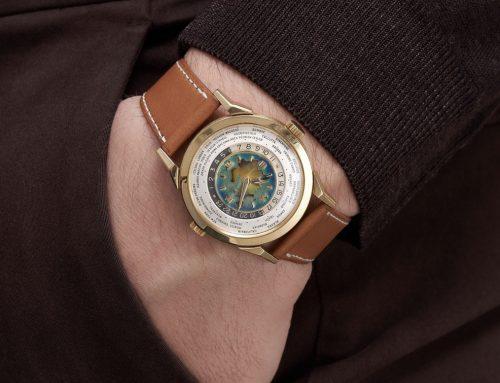 Phillips X Bacs & Russo metterà all'asta un rarissimo Patek Philippe 2523 in oro giallo con continente Euroasiatico smaltato