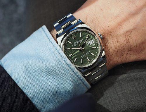 W & W 2021 | Rolex introduce due nuovi quadranti sui Datejust 36: 'foglie di palma' e 'scanalato'