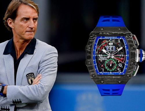 Roberto Mancini indossa il Richard Mille RM 11-04 al debutto di Euro2020