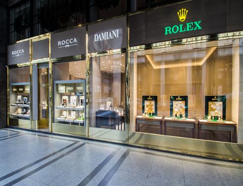 Rocca1794 aprirà la nuova boutique ROLEX in Galleria Vittorio Emanuele II a Milano