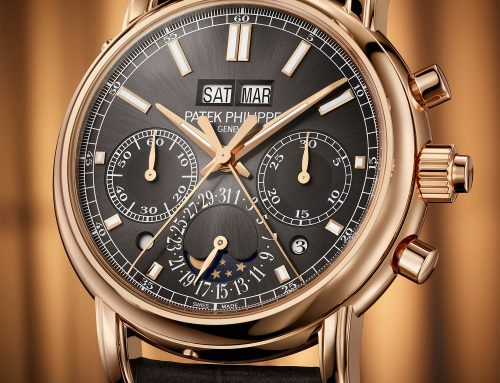 Introducing Patek Philippe 5204R Split-Seconds Chronograph Perpetual Calendar, Now In Rose Gold and Slate Grey
